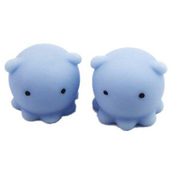 Jumbo Squishy Animal Simulation New Kawaii Cute Stress Toy 5PCS - SEA BLUE