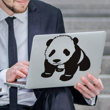 Art Creative Notebook Refrigerator Luggage Panda Sticker Ba-014 - BLACK