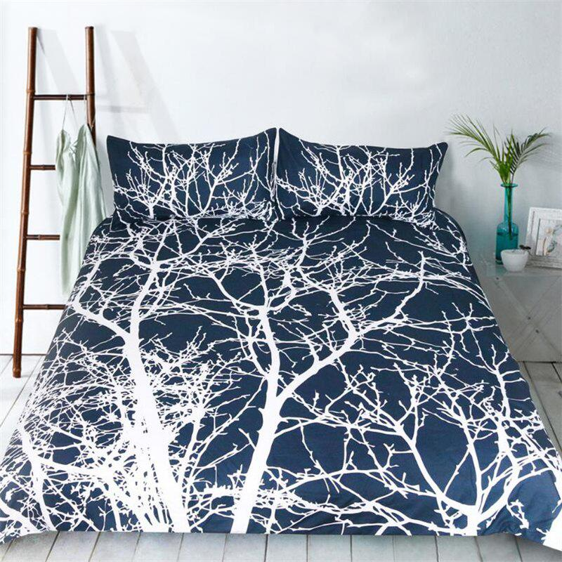 New High Quality Life Tree Bedding Three-Piece Suit - multicolor KING