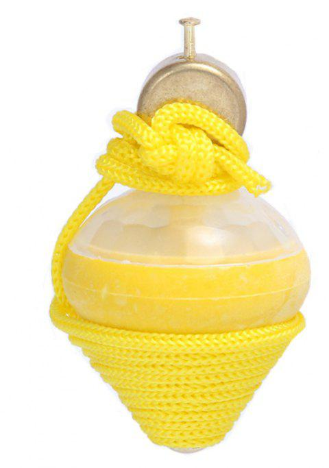 Children New Special Seven color Glitter Egg Ball Toy - YELLOW