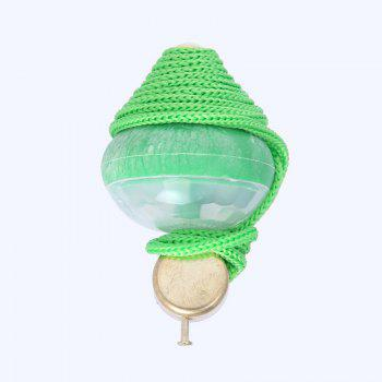 Children New Special Seven color Glitter Egg Ball Toy - GREEN