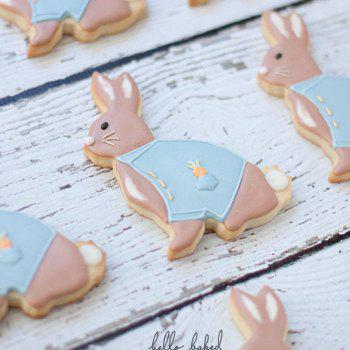 Rabbit Cookies Cutter Stainless Steel Biscuit Cake Mold Fondant Baking Tools - SILVER
