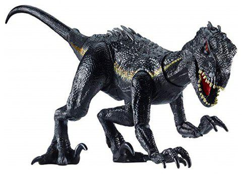 New World Park Tyrannosaurus Rex Dinosaur Plastic Toy Model Kids Gifts - BLACK