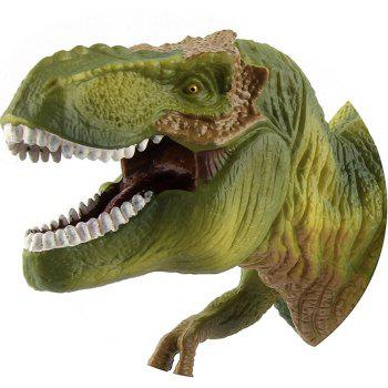Tyrannosaurus Rex dinosaure jouets action figure animal modèle collection apprentissage - armée verte