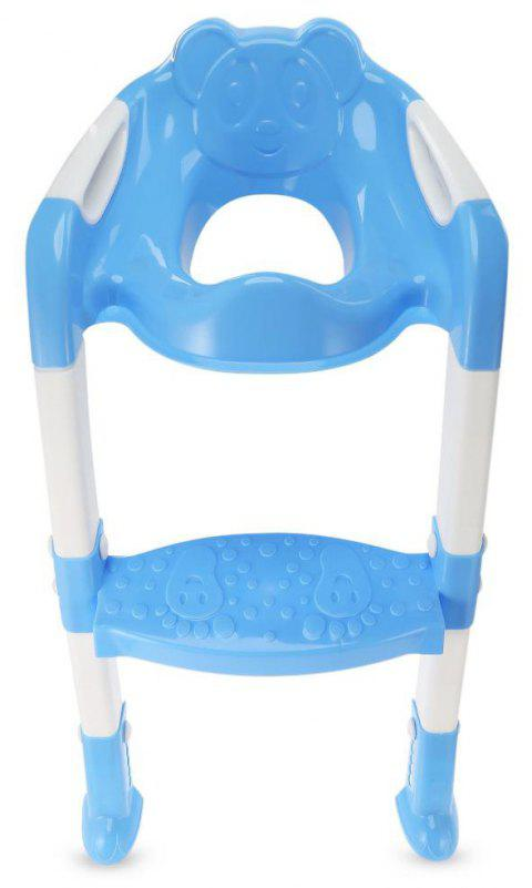 Children'S Folding Toilet Seat - LIGHT SKY BLUE
