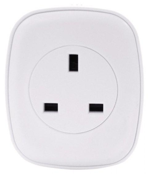 HakkaDeal WIFI Téléphone Mobile Interrupteur Commande Vocale Smart Socket - Blanc UK