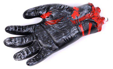 Halloween Simulation Bloody Broken Hand Props - BLACK
