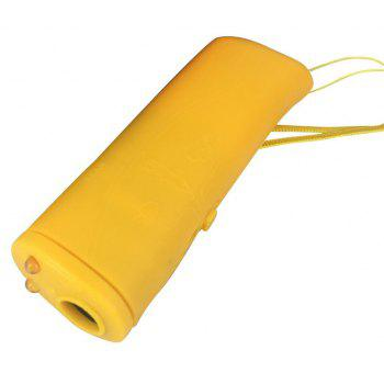 New Ultrasound Dog Training Repeller Control Trainer Device - RUBBER DUCKY YELLOW