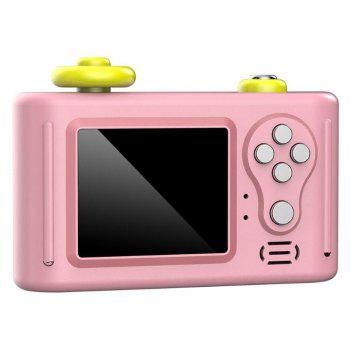 Mini Cartoon 1.5 inch Screen 2MP Kids Digital SLR Camera Children Toy - PINK