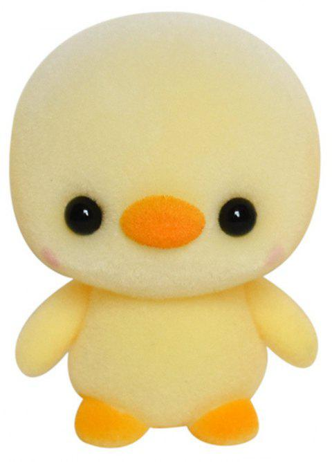 Cute Plush Animal Chicken Toys - GOLDENROD