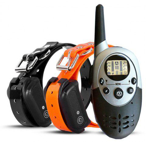Water Resistant and Rechargeable Dog Shock Collar Remote Dog Training Collar - BLACK