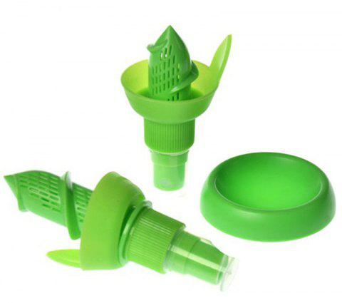 Fruit Juice Citrus Lime Juicer Spritzer  Gadgets Spray Tool 3PCS - YELLOW GREEN