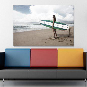 Seaside Scenery Print Art - multicolor