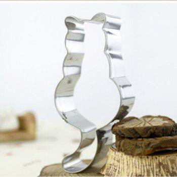Long Tail Cat Cookie Cutter Mold Cake Baking Mould Biscuit DIY Kitchen Tool - SILVER
