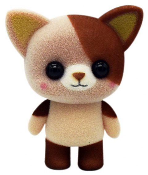 Cute Plush Animal Cat Toys - LIGHT BROWN