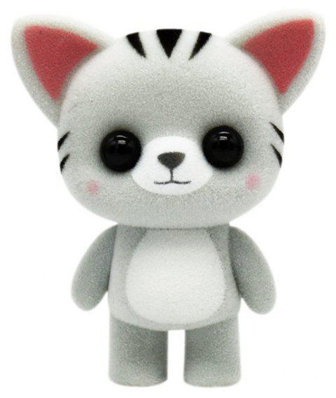 Cute Plush Animal Cat Toys - SILVER
