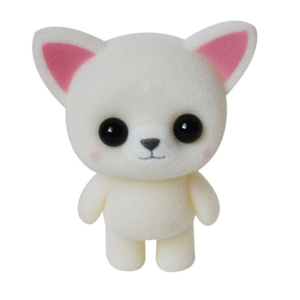 Cute Plush Animal Cat Toys - MILK WHITE