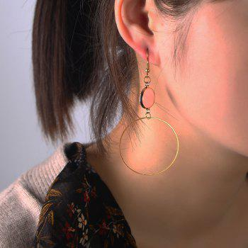 Boucles d'oreilles en diamant rose - Or