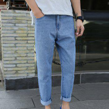 Men's Fashion Baggy Jeans - LIGHT BLUE 29