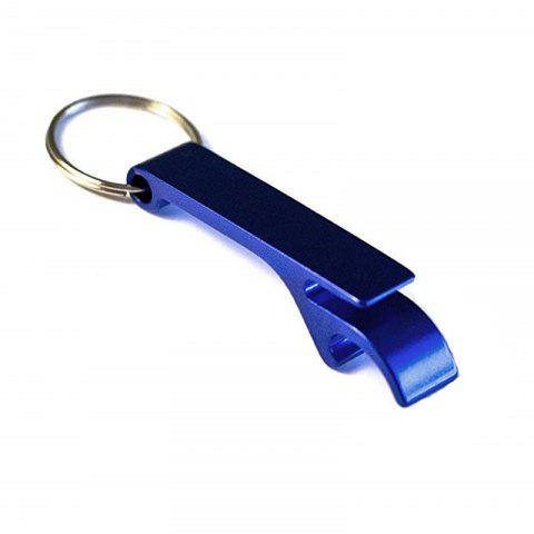 Bottle Opener Key Ring Chain - BLUEBERRY BLUE