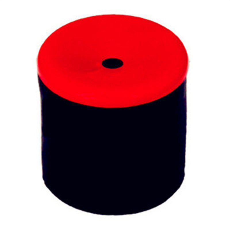 Rubber Squeeze Tube Shock Fart Bucket Trick Fun Novelty Toy - RED