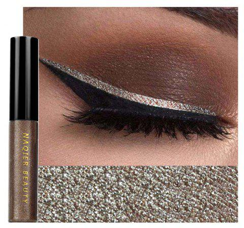 NAQIER Shiny Eyeliner Pencil White Liquid Eyeliner Gel Waterproof - 005