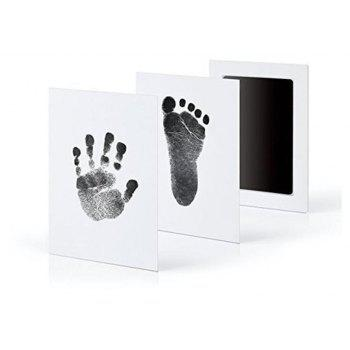 Baby Handprint Footprint Imprint Kit - BLACK