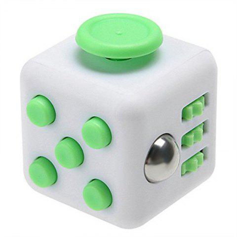 Fidget Dice Toy Release Stress Anxiety and Relax Magic Cube - MINT GREEN