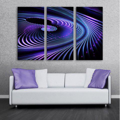 Impression sur toile à LED étirée Flash The Revolve - multicolor 12 X 35 INCH (30CM X 90CM)