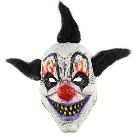 YEDUO Creepy Evil Scary Halloween Clown Mask Adult Ghost Festival Party - NIGHT