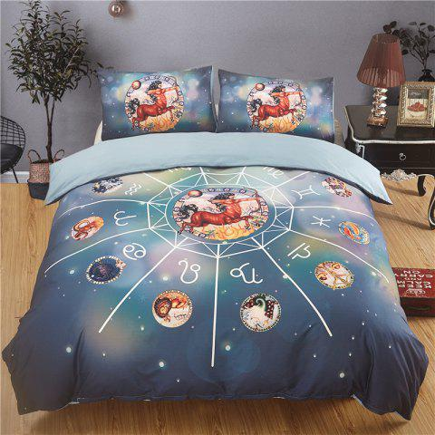 Explosion Models 12 Constellation Sagittarius Quality Bedding Three-Piece - multicolor KING