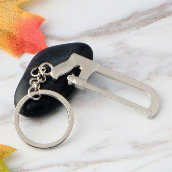 Hot Metal Creative Small Gift Tool Keychain - SILVER