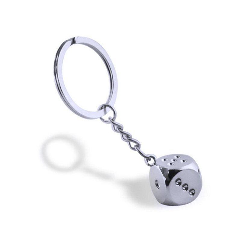 Creative New Personality Metal Keychain - SILVER