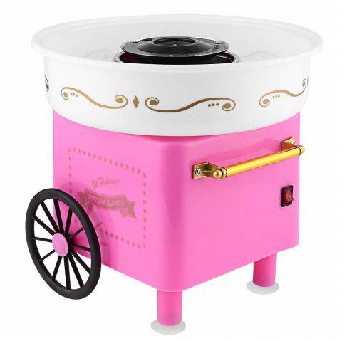 Cotton Candy Maker Hard Sugar-Free Candy Sugar Floss Machine EU Plug - PINK