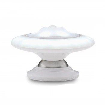 Intelligent 360 Degree Rotation LED Infrared Human Body Induction Lamp - WHITE