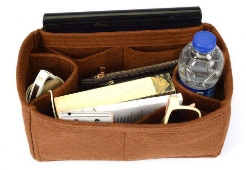 Bag and Purse Flet Organizer With Regular Style For Neverfull Models -  SEPIA HORIZONTAL 710bd66f3fa0b