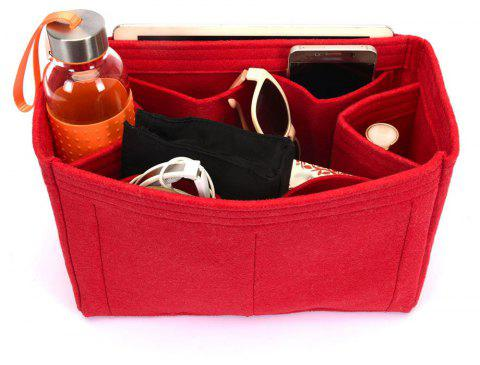 Bag and Purse Flet Organizer With Regular Style For Neverfull Models - CHILLI PEPPER HORIZONTAL