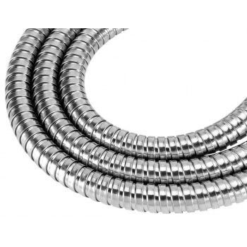 High Quality Stainless Steel 1.5M Replacement Flexible Handheld Shower Hose - SILVER