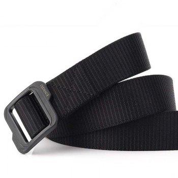 Enniu Elastic Stretch Quick-drying Plastic Buckle Tactical Belt - BLACK