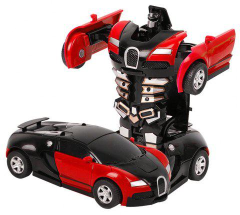 Toy Cars One-step Transform - RED