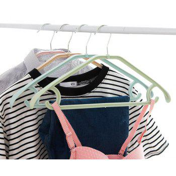 DIHE Broad Shoulder Seamless Multipurpose Coat Hanger 5PCS - GREEN THUMB