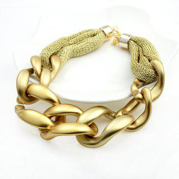 Personality Necklace for Women Alloy Chain - GOLD