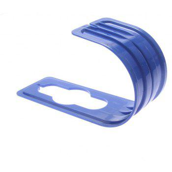 Pipe Holder Hooks Wall Mounted Flexible Hose Garden Gadget - BLUE