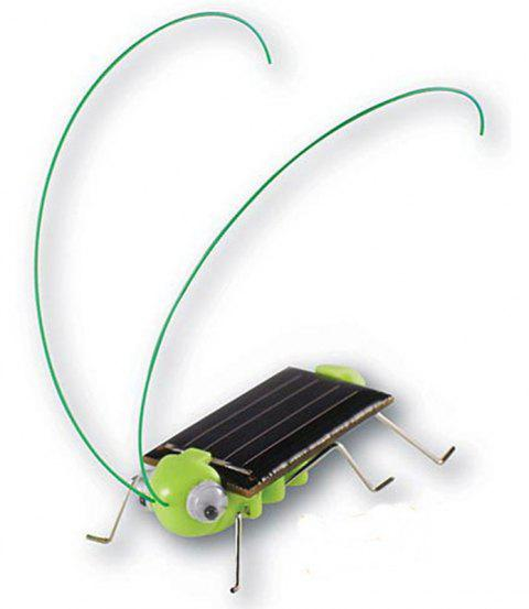 Grasshopper Model Solar-Powered Toy - multicolor A