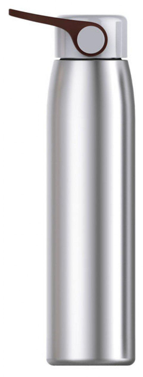 320ml Stainless Steel Double Thermos Cup Vacuum Flask Mug Travel Drink Bottle - SILVER