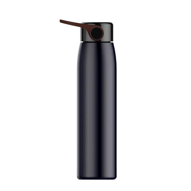 320ml Stainless Steel Double Thermos Cup Vacuum Flask Mug Travel Drink Bottle - BLACK