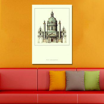 A Beautiful Castle Print Art - multicolor