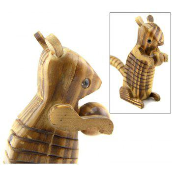 Simulation Animals Wooden Model Toy - multicolor A