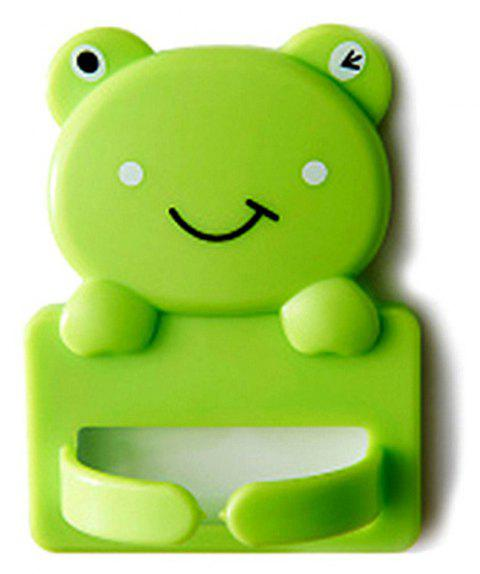 Cartoon Plastic Bracket Wire Power Socket Plug Hook - NEBULA GREEN
