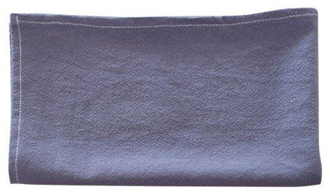 Plain Cotton Linen Heat Insulation Coaster Placemat - CADETBLUE